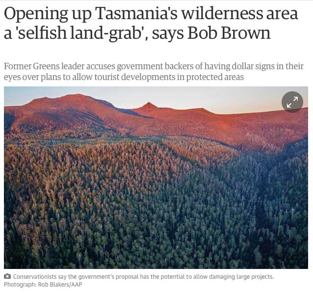guardian.com Selfish land grab