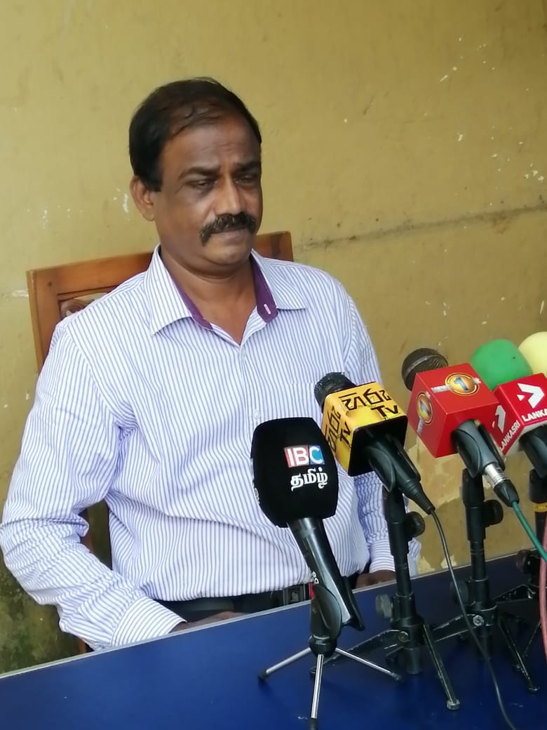 Prasanna Kalutharage, President of the Sri Lanka Independent Port Employees Association (SLIPEA)
