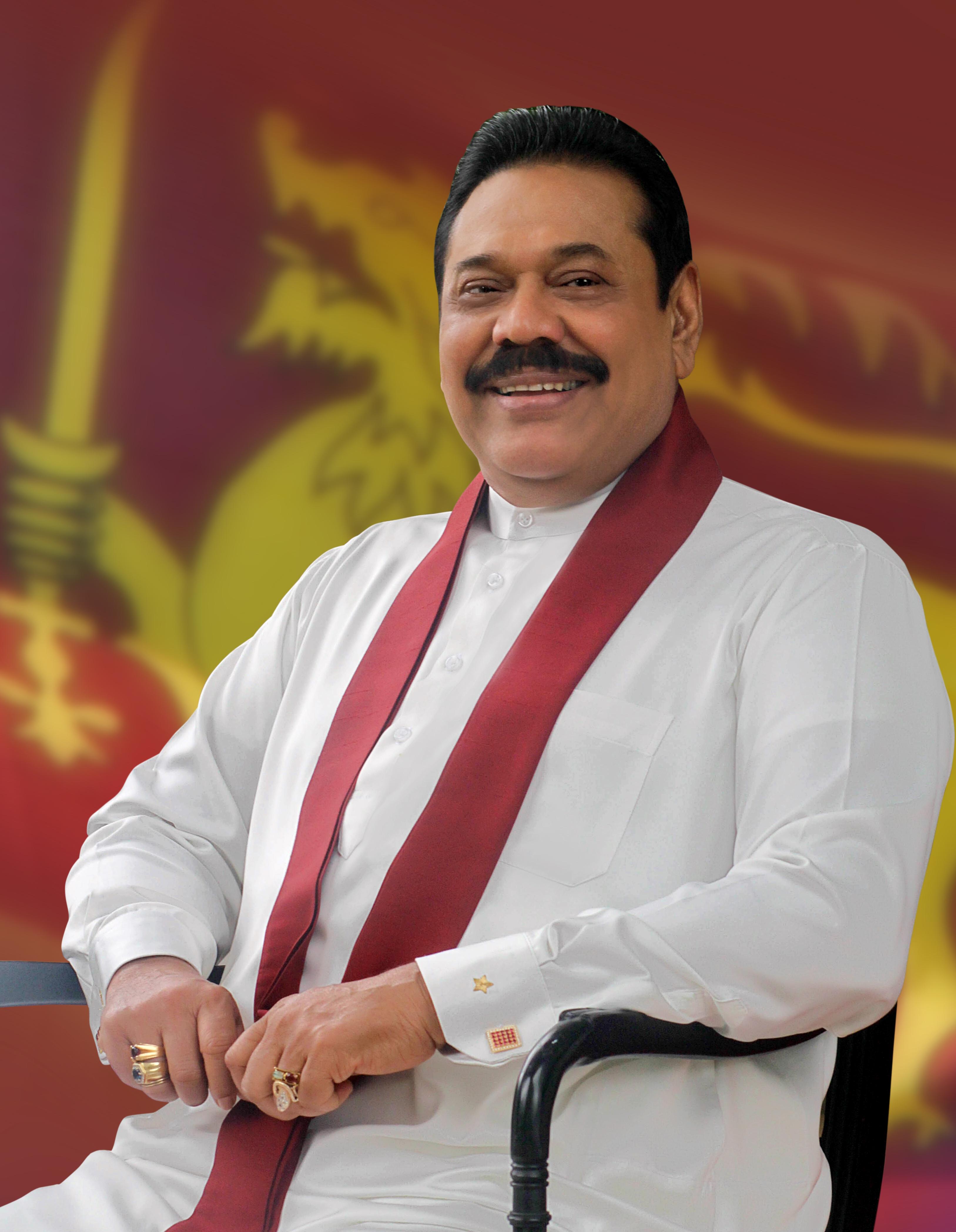 Prime Minister Mahinda Rajapaksa