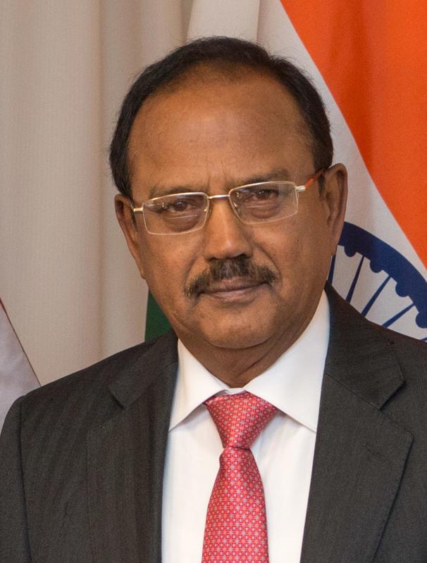 Indian National Security Advisor Ajit Doval