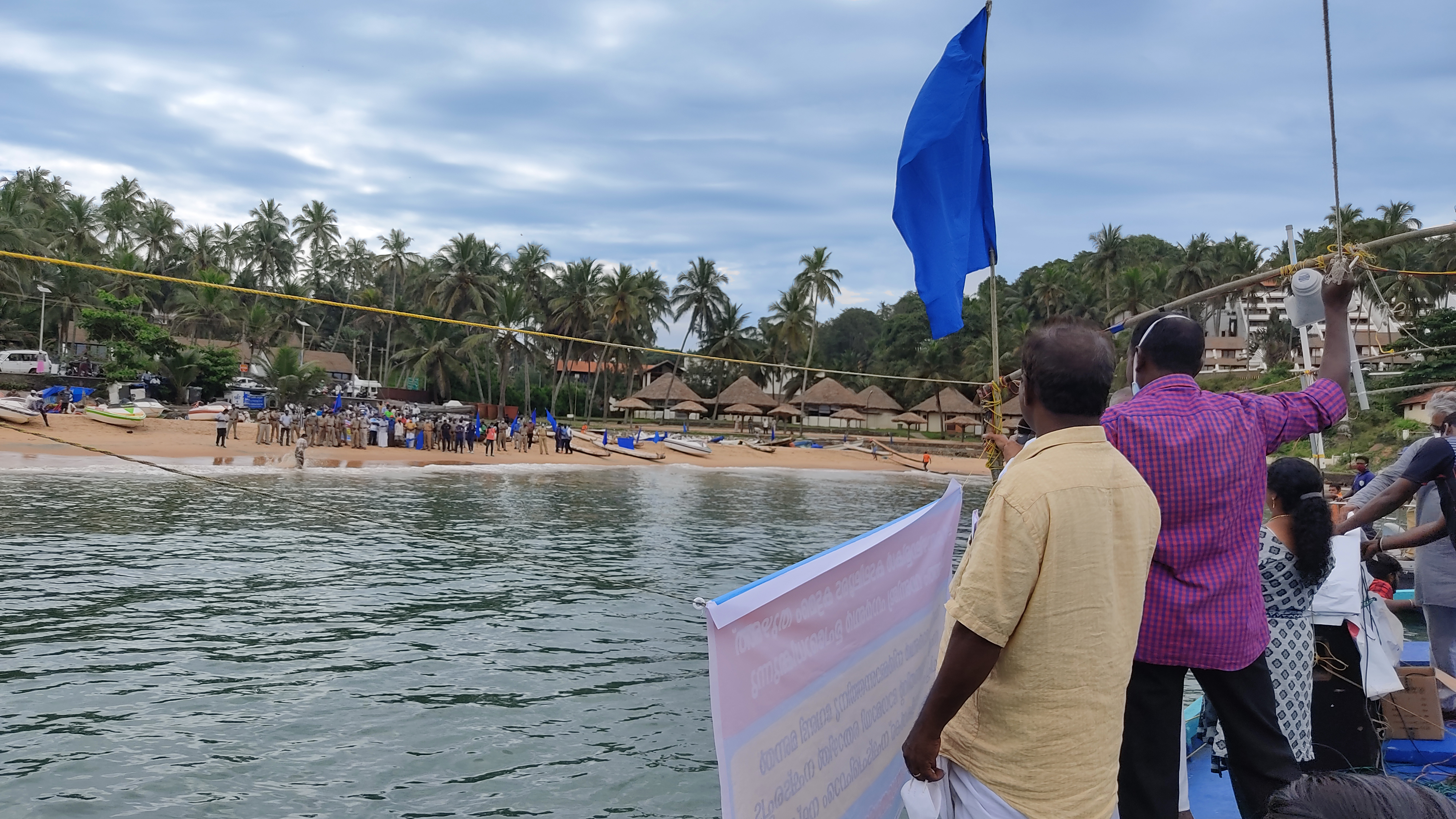 Local people defy Adani on land and at sea