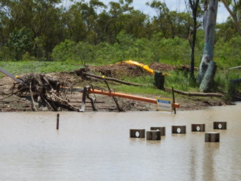 Photos show flooding, sedimentation of creeks on Adani rail line