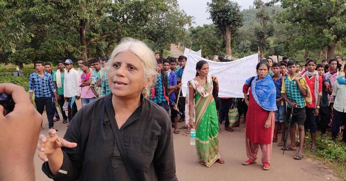 Villagers protest Bailadila iron-ore mine in Dantewada, Chhattisgarh. Courtey Scroll.In