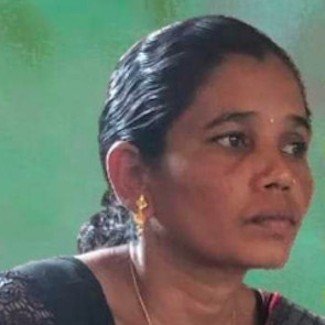 Hidme Markam, incarcerated by authorities for her struggle against mining and to protect women