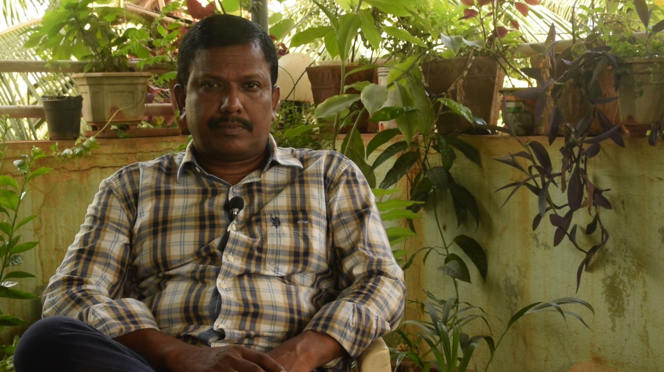 Stalin Dayanand, a defender of ecology and traditional inhabitants in the environs of Mumbai. Photo Shiva Thorat