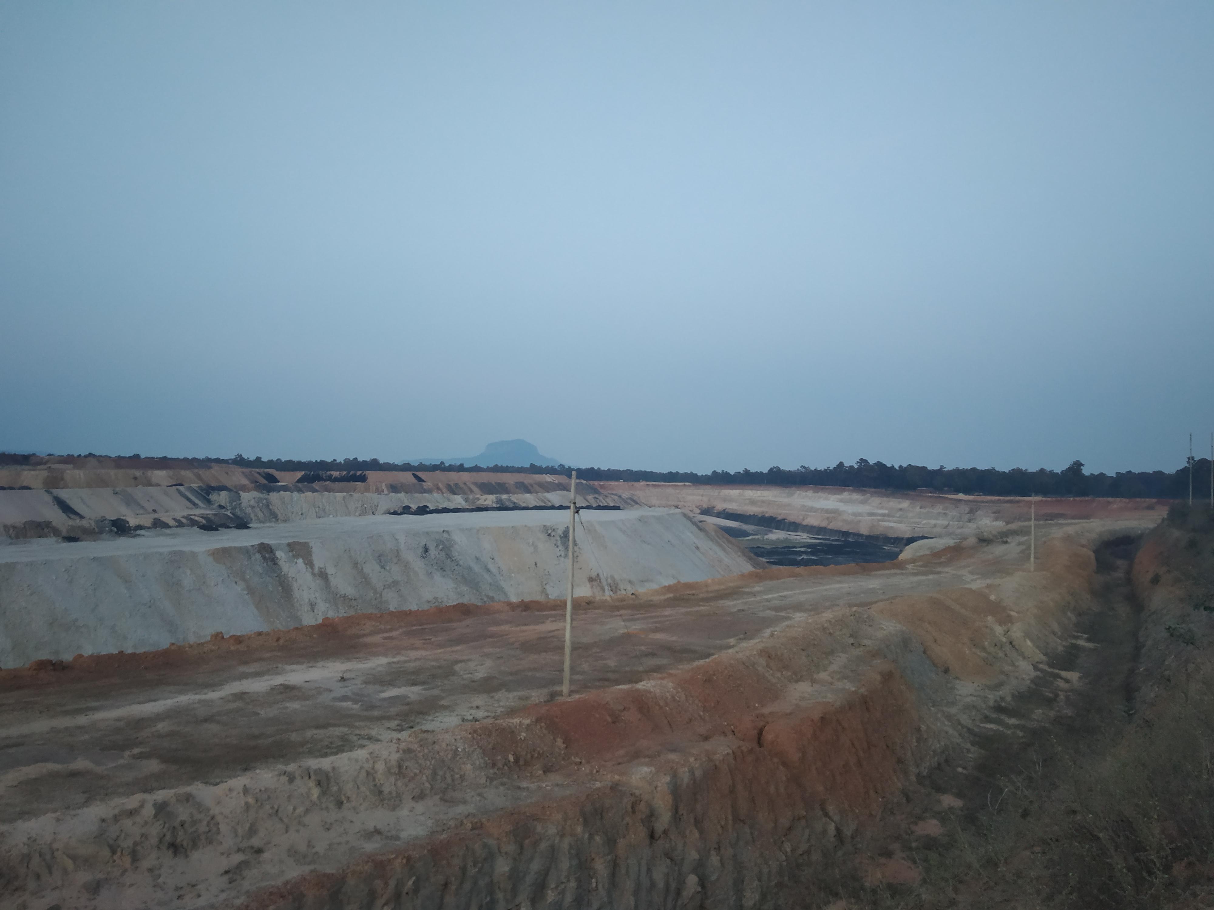 The Parsa East & Kanta Basan mine, Hasdeo forests, Chhattisgarh. Image Abir Dasgupta