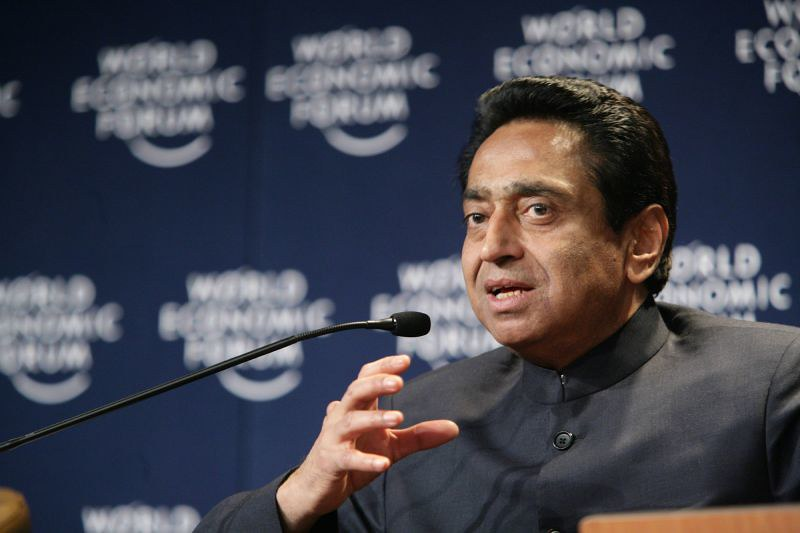 Former Chief Minister of Madhya Pradesh, Kamal Nath, whose government signed the power-purchase agreement with the Adani Group's Pench company. Courtesy Flickr