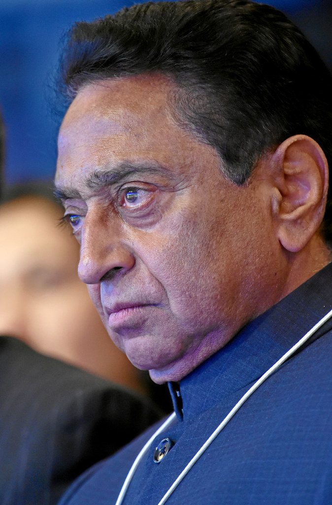 Former Chief Minister of Madhya Pradesh and former minister in central government, Congress MP Kamal Nath. Courtesy Flickr