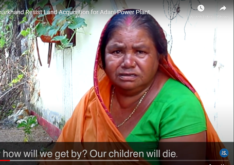 Sumitra Devi (wife of Ramjeevan Paswan) died in 2019, distressed by the loss of the family farm. Courtesy IndiaSpend