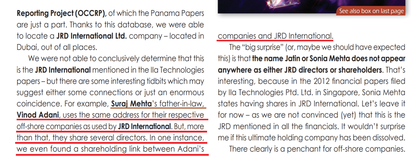Reporting by Chaim Even-Zohar on Jatin Mehta's businesses