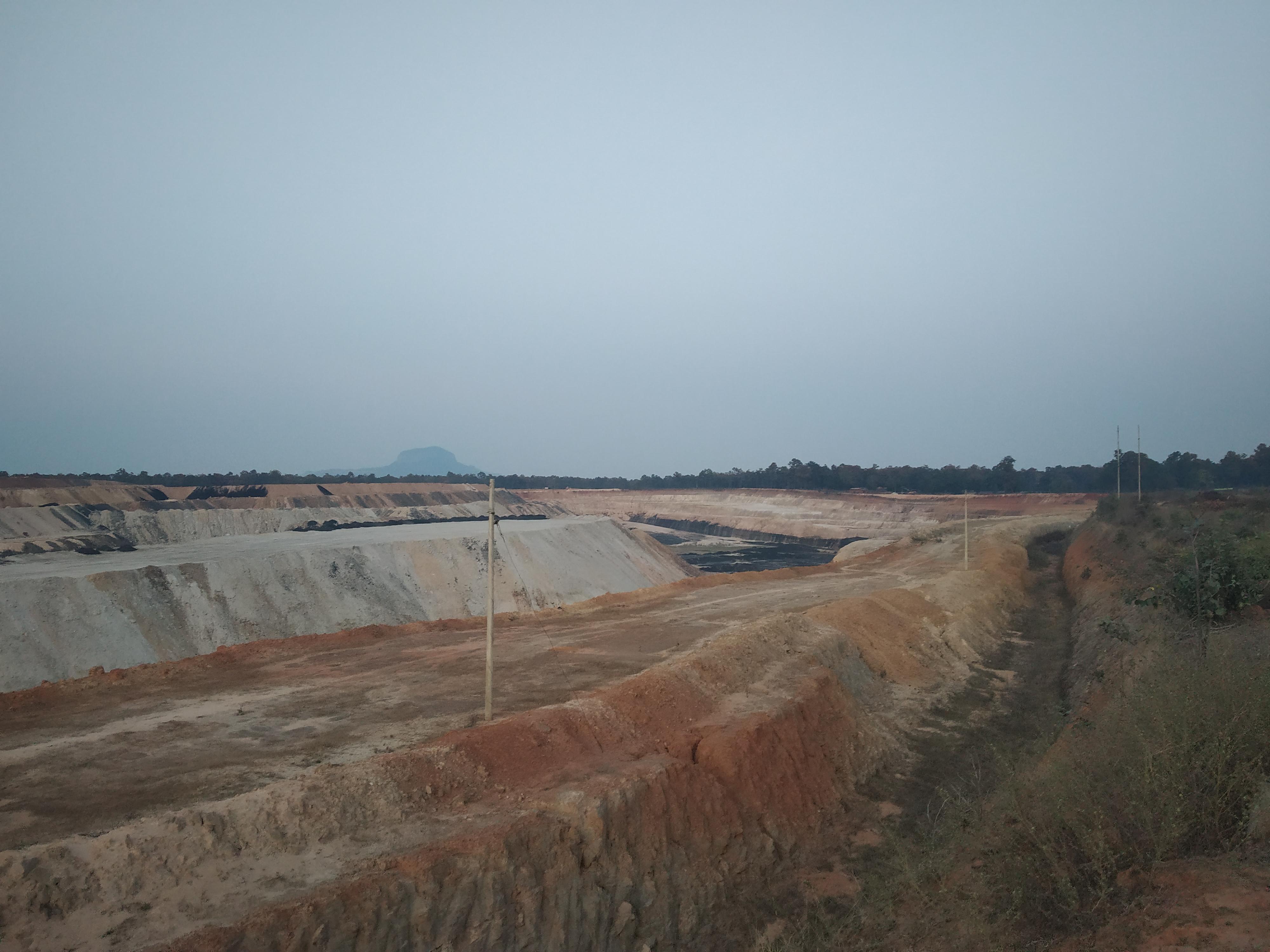 Parsa East & Kente Basan coal mine, Chhattisgarh, India. Photo Abir Dasgupta
