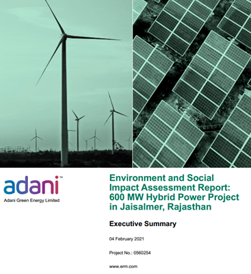 The impact study by Adani identified significant tracts of pasture within the project area.