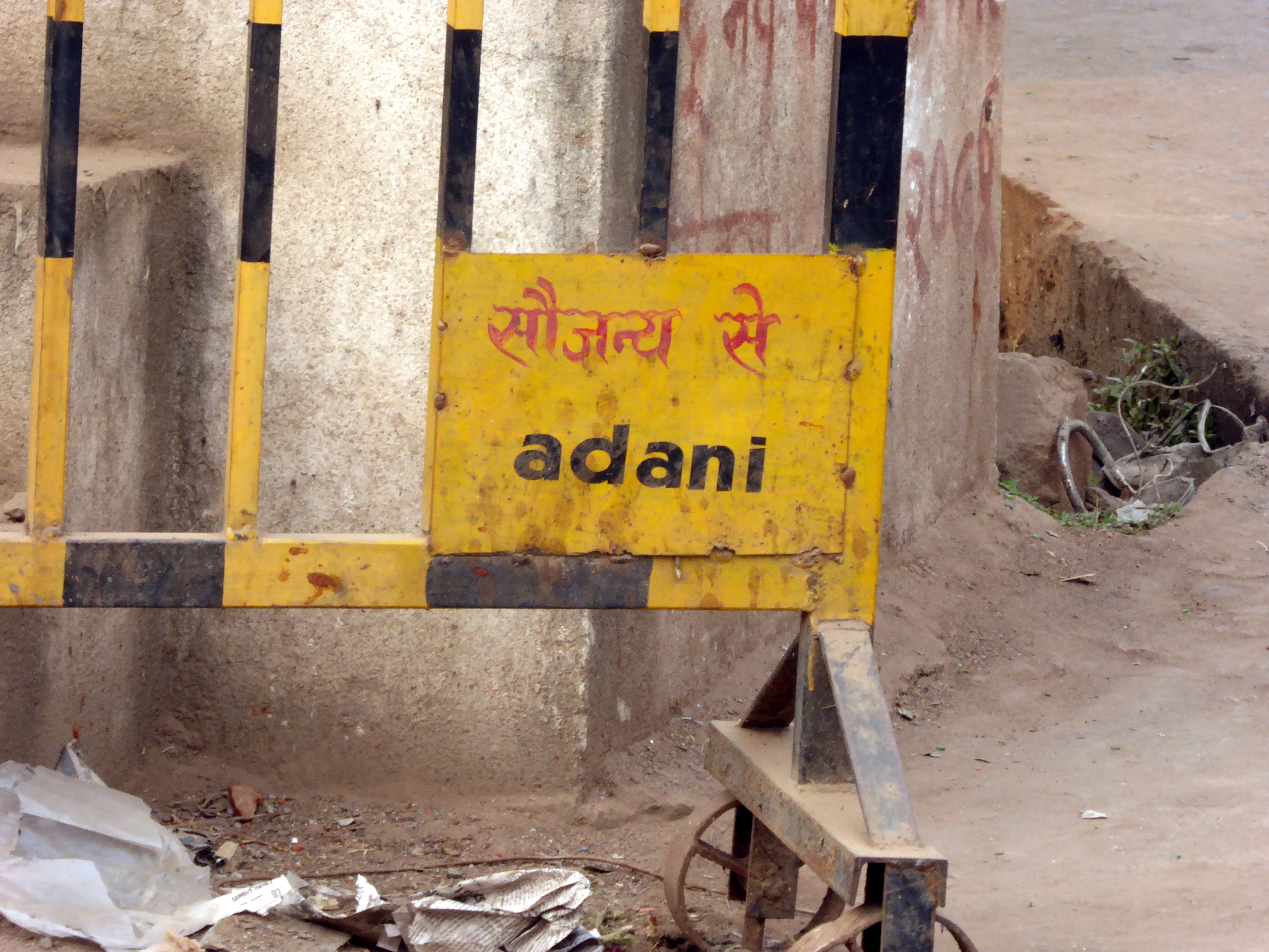 The Adani Group is ubiquitous in India. Photo Geoff Law