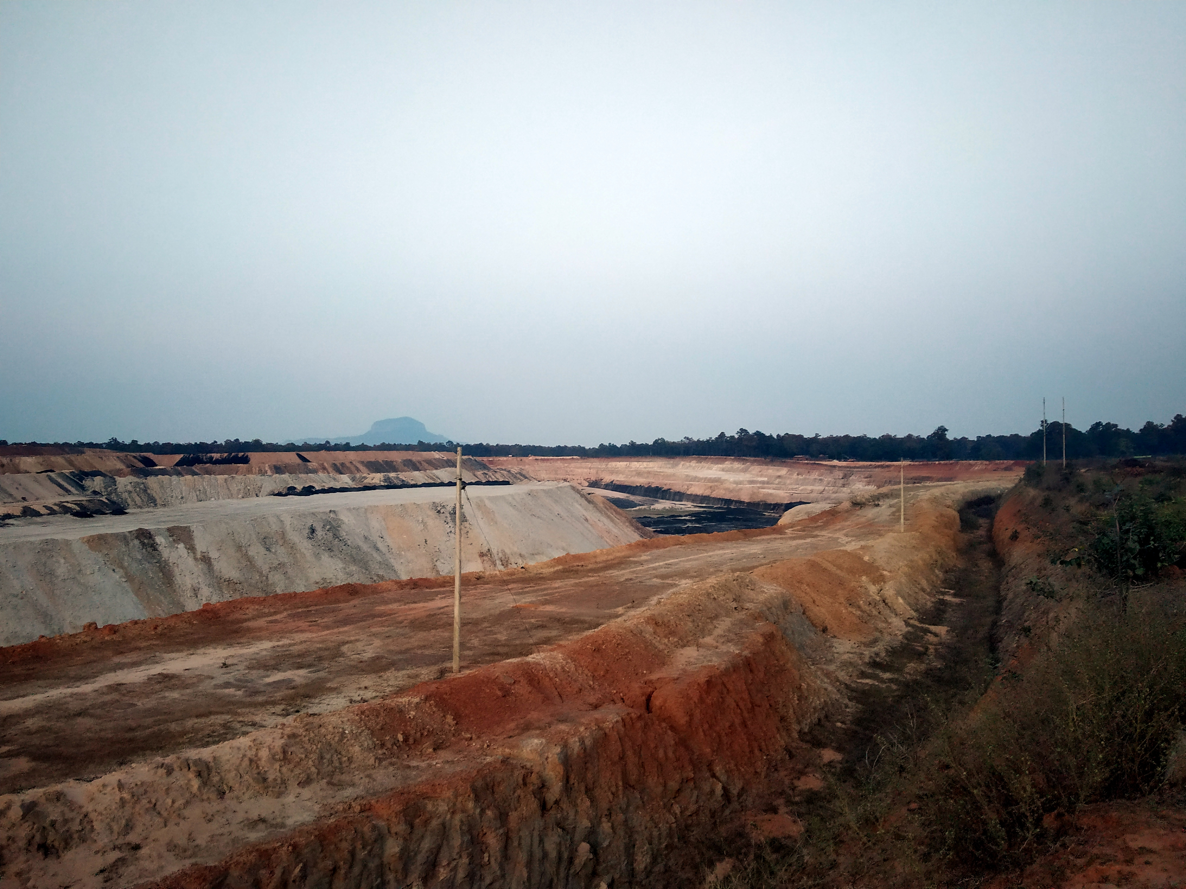 The PEKB coal mine, developed and operated by Adani, in the Hasdeo forests of India.