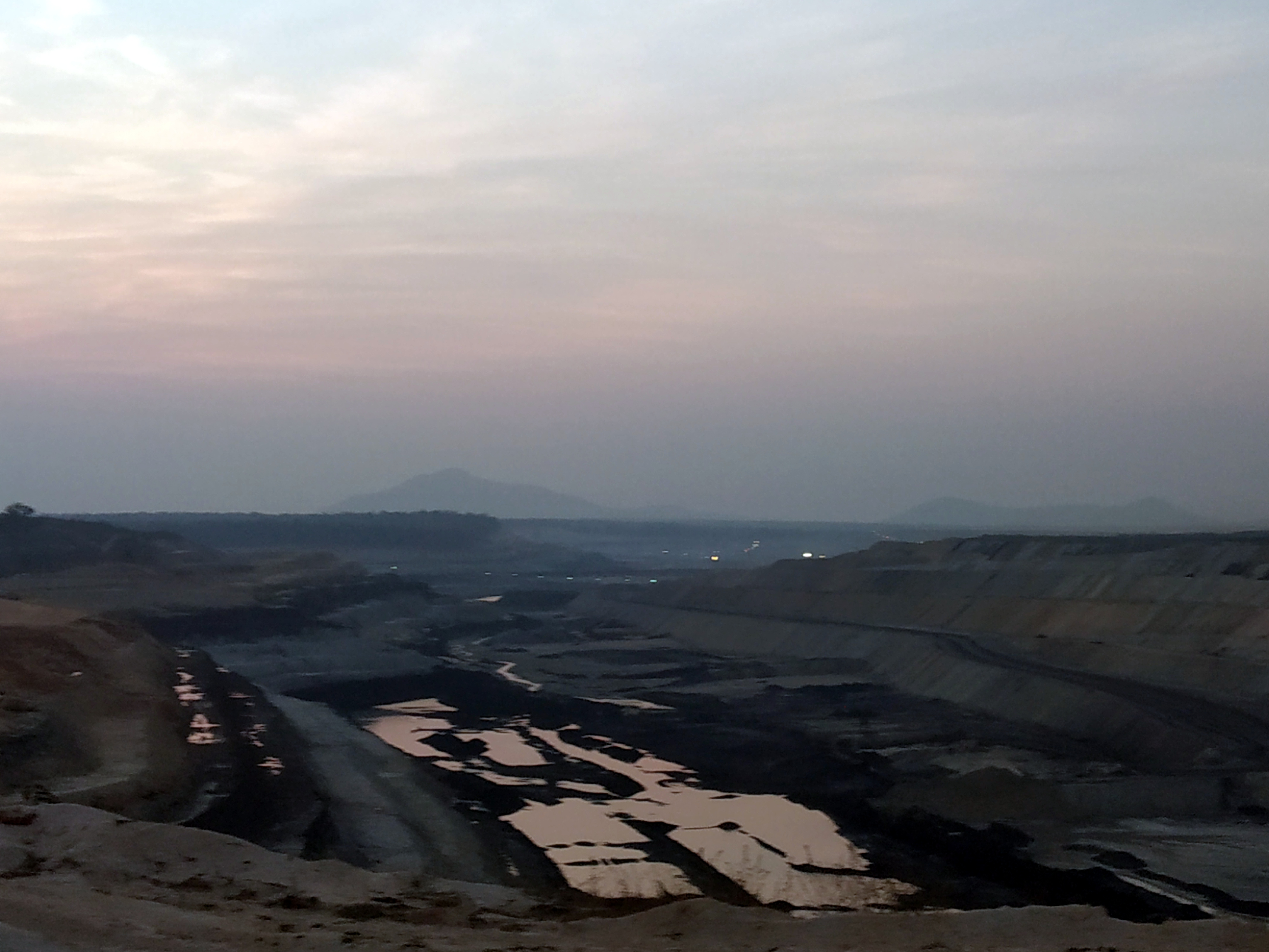 The PEKB coal mine, developed and operated by Adani in the Hasdeo forests.