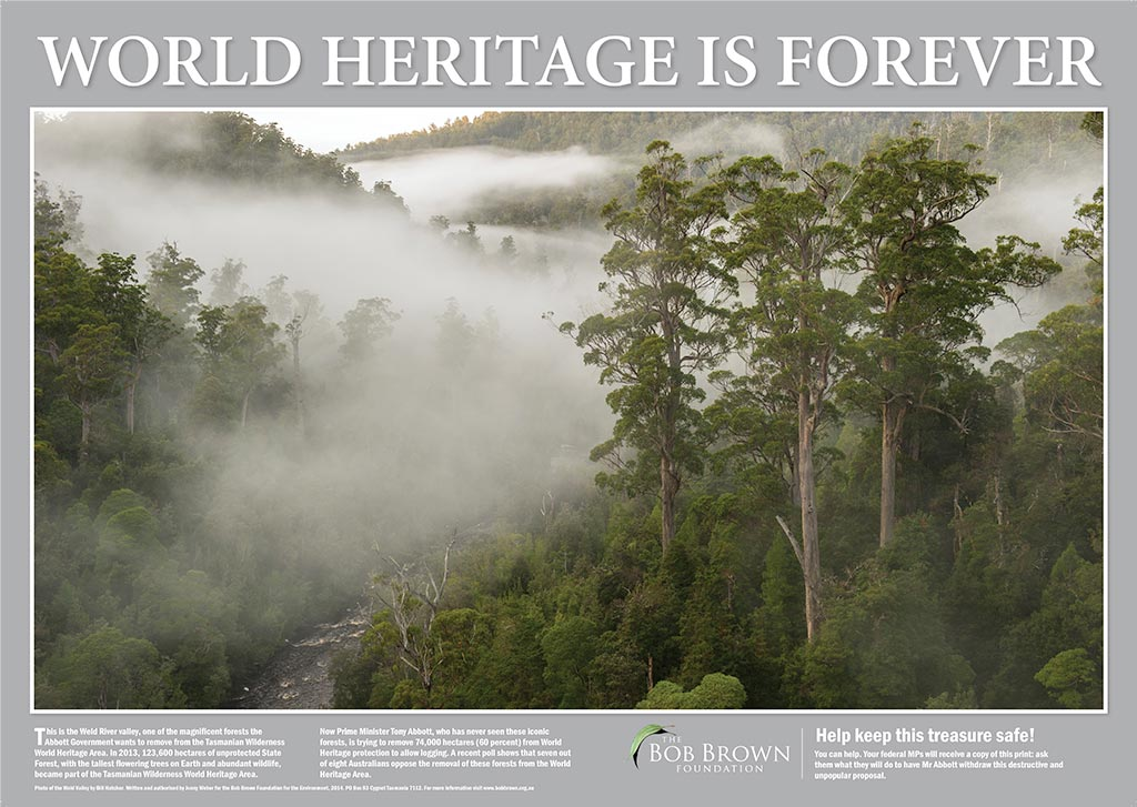 World Heritage is Forever Poster