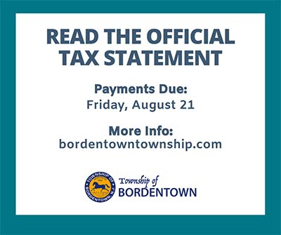 Update on Tax Payments