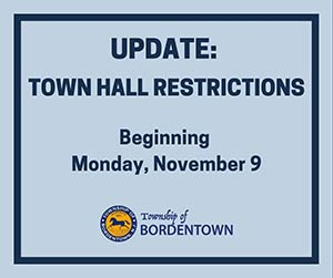 Town Hall Restrictions