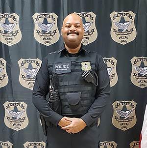 Officer Mark Sherman