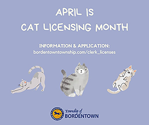 April Is Cat Licensing Month