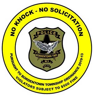 No Knock Sticker