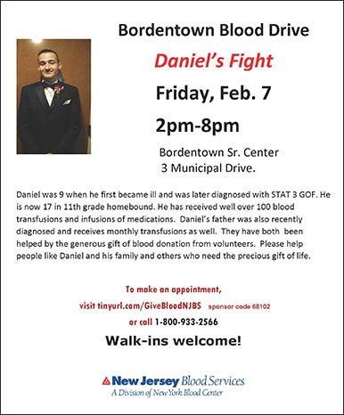 Daniel Applegate's Blood Drive