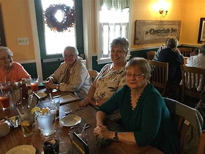 Lunch at Chesterfield Inn