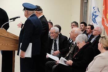 Veterans Ceremony, Nov, 9 2019