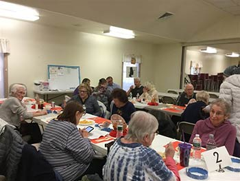 Senior Covered Dish Party, November