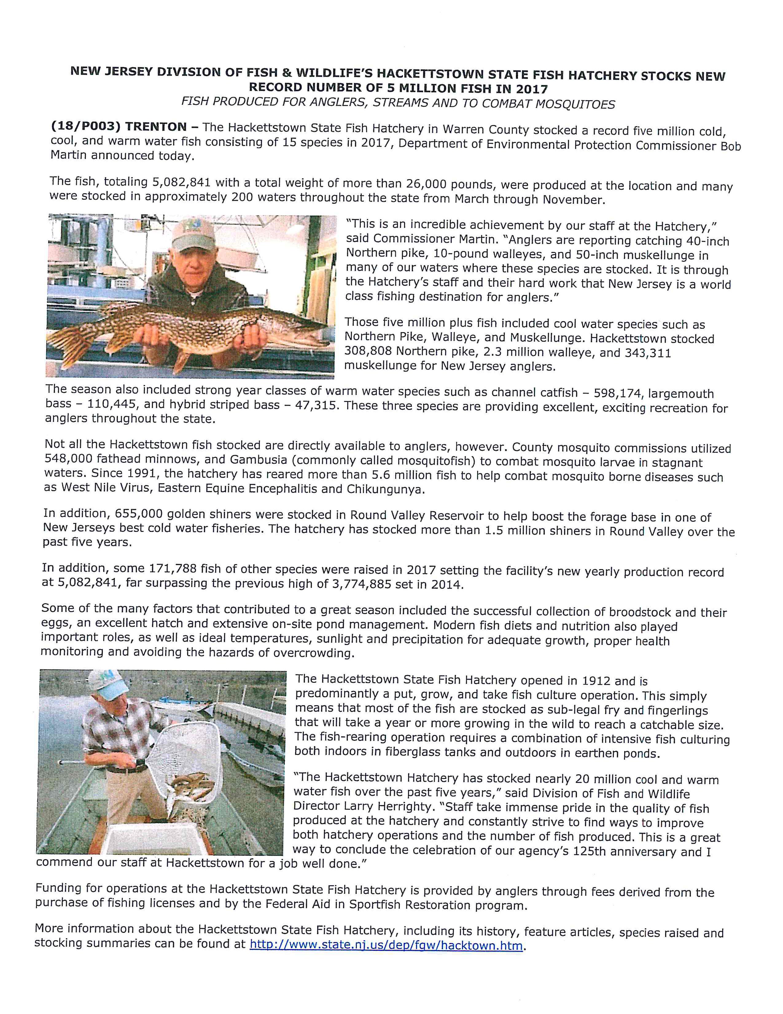 NJ Fish & Wildlife - Bordentown Township New Website
