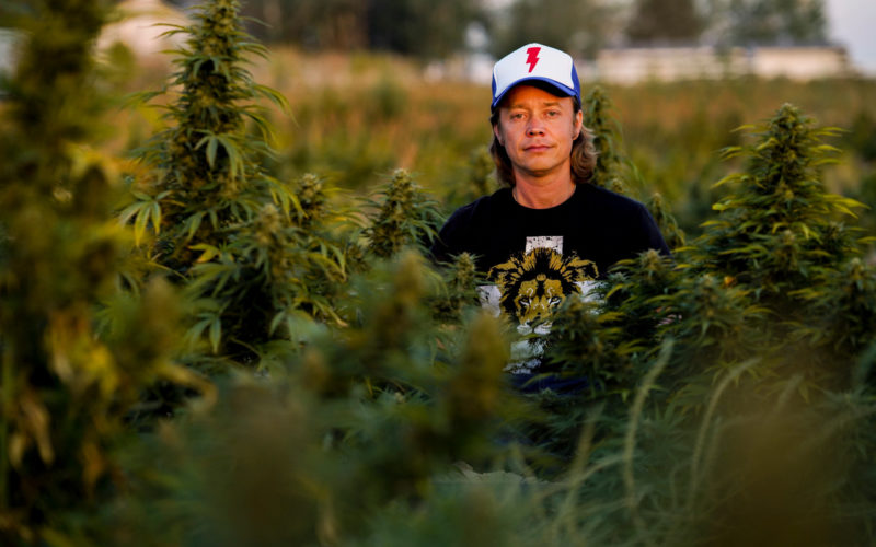 Brock Pierce in High Times Magazine