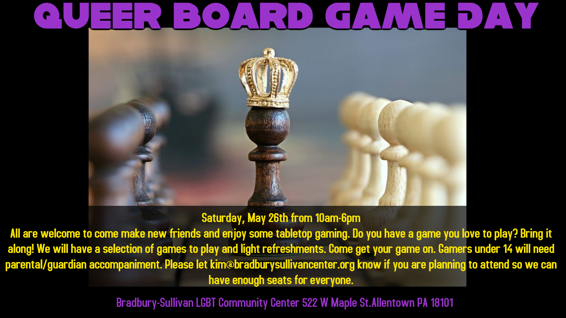Queer Board Game Day