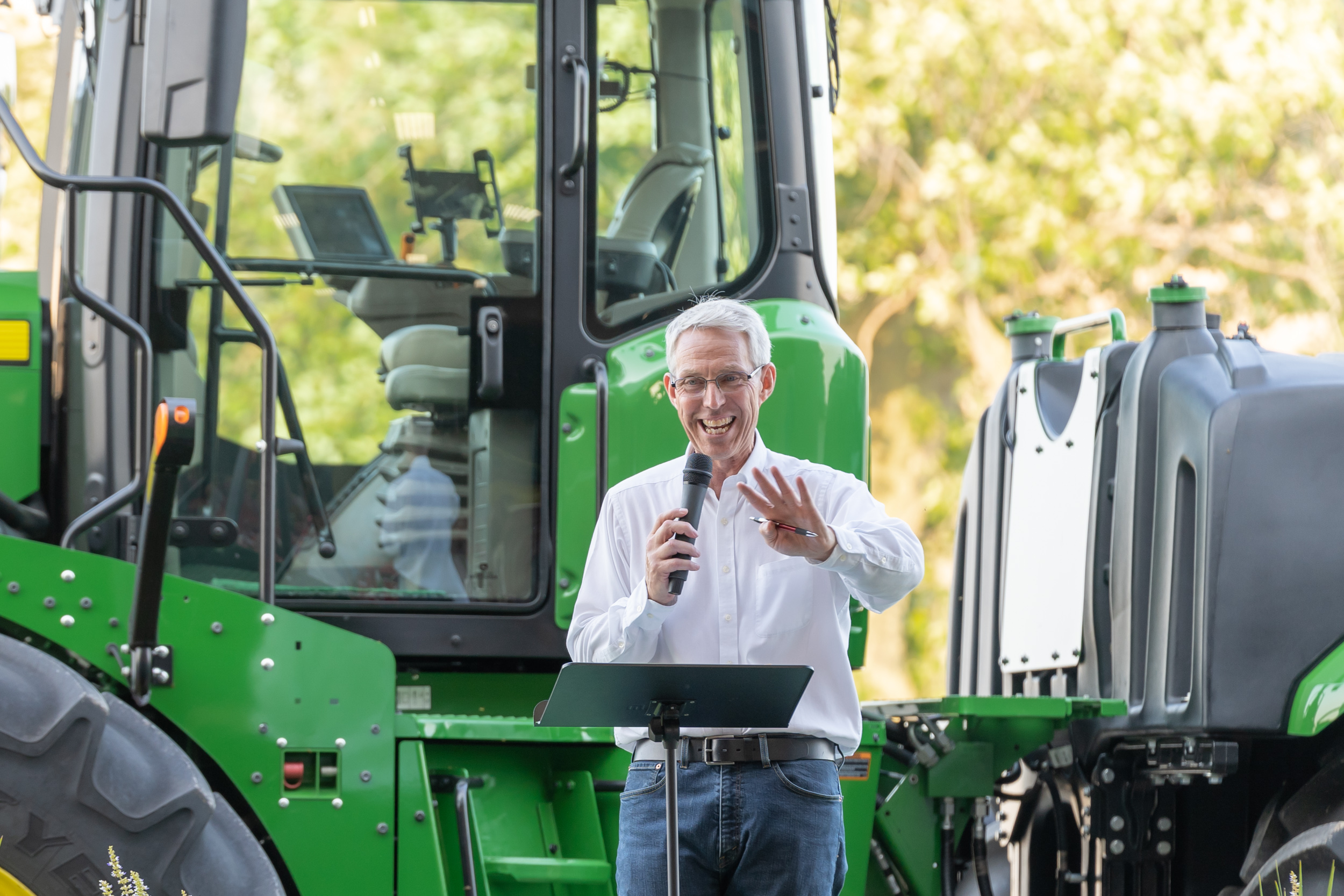 IL State Representative Brad Halbrook Down on the Farm