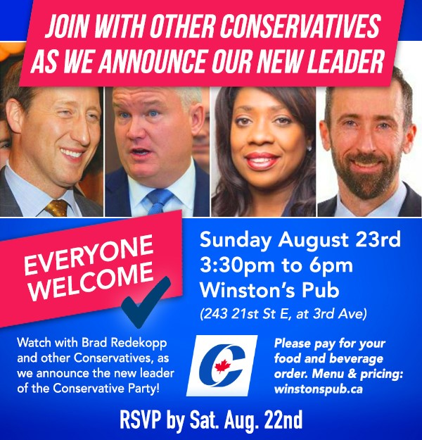 Conservative Leadership Watch Party