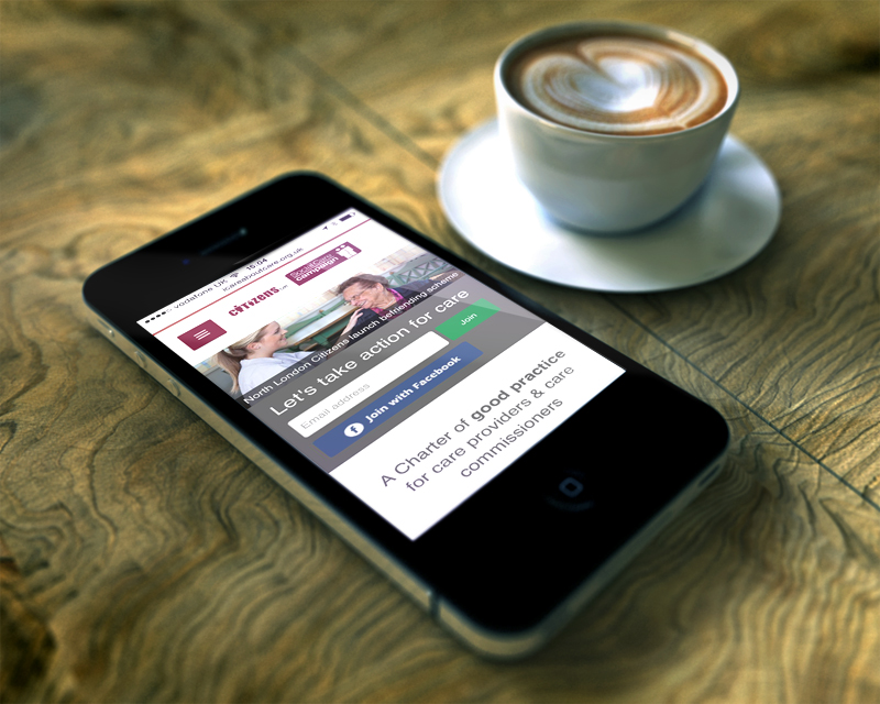 Social Care on iPhone