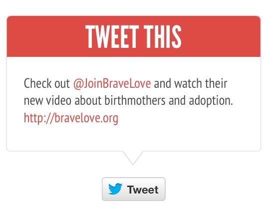 Tweet the BraveLove
