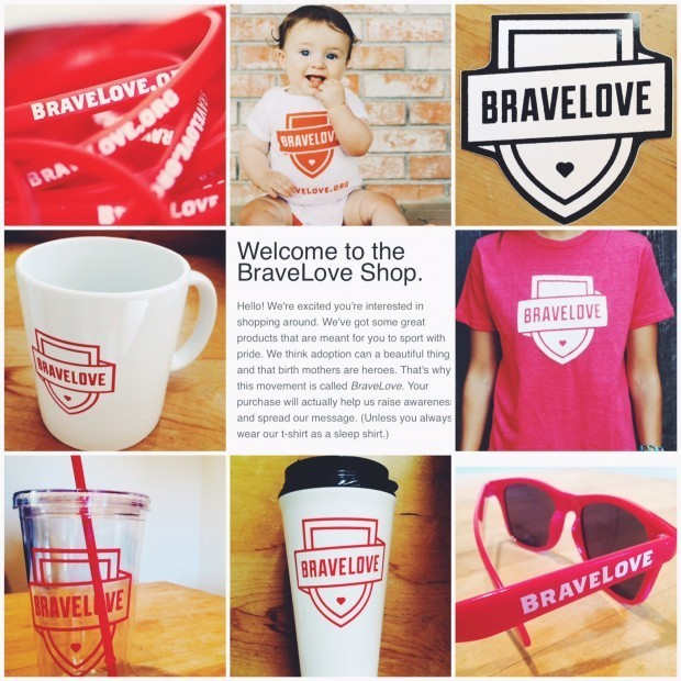 The BraveLove Shop - the place to go for all your BraveLove swag