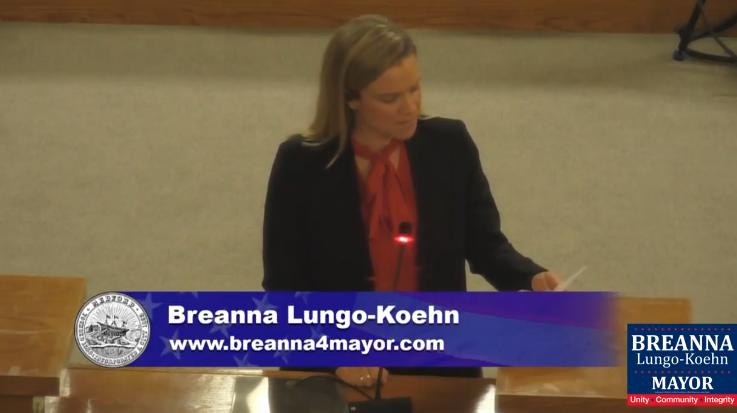 Breanna Lungo Koehn _Candidates Forum