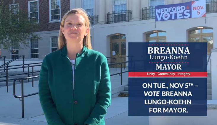 Vote Breanna on November 5th