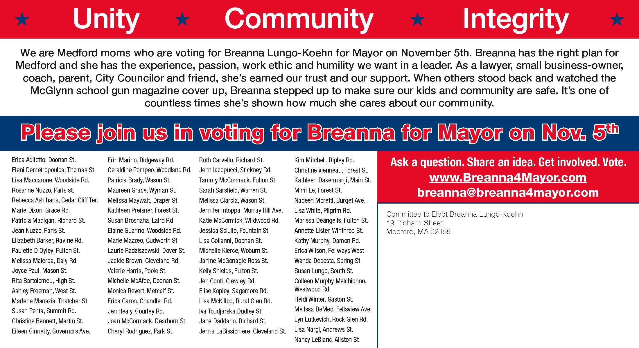 Breanna for Mayor of Medford_2