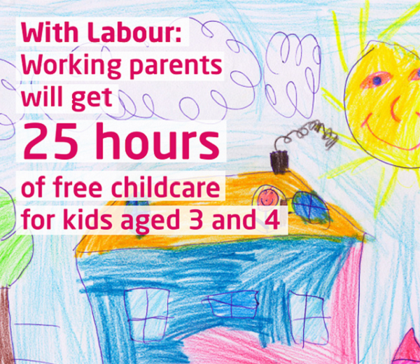 Read about out our plans to tackle the cost of childcare