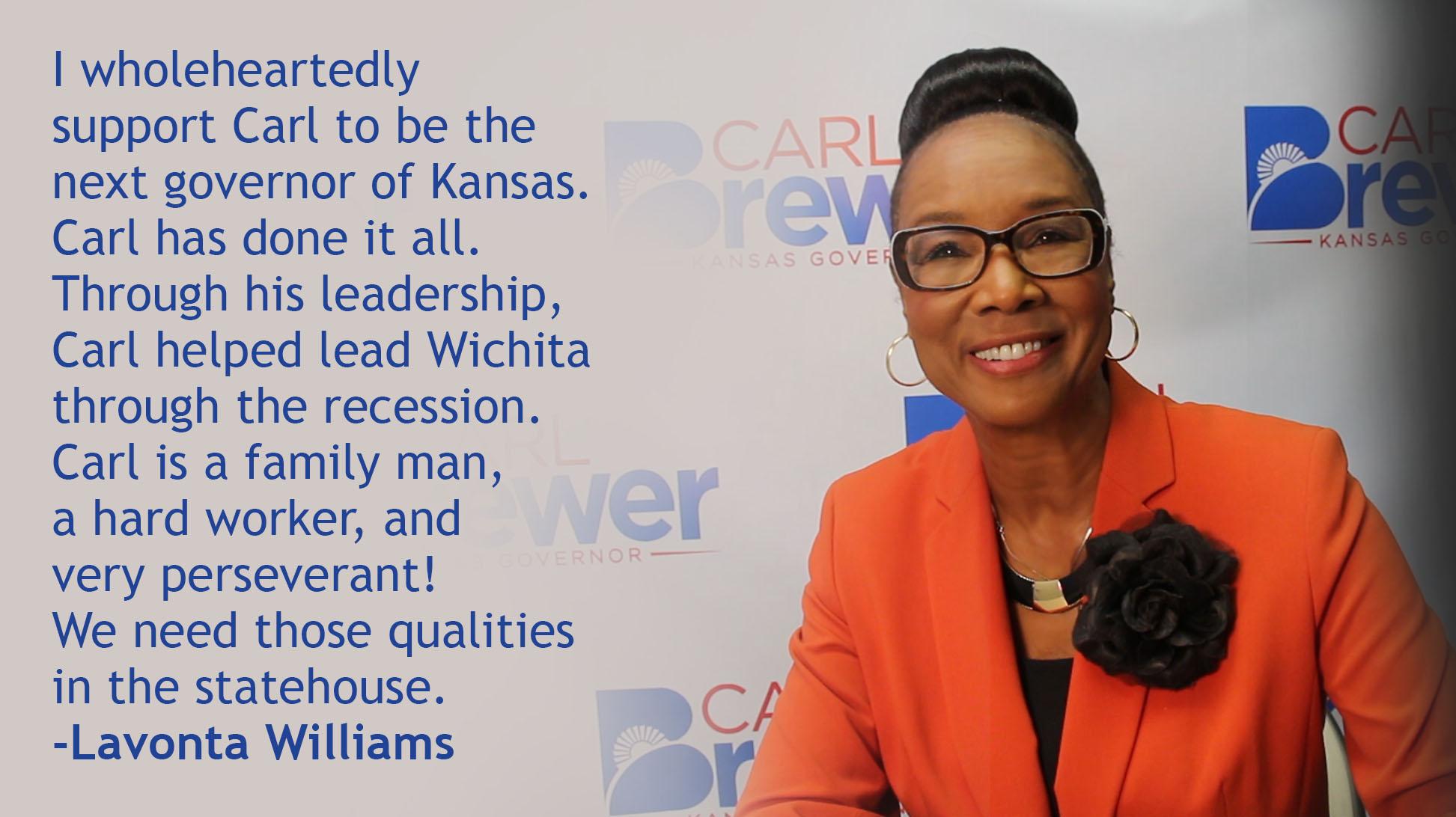 Former Wichita Vice Mayor Lavonta Williams