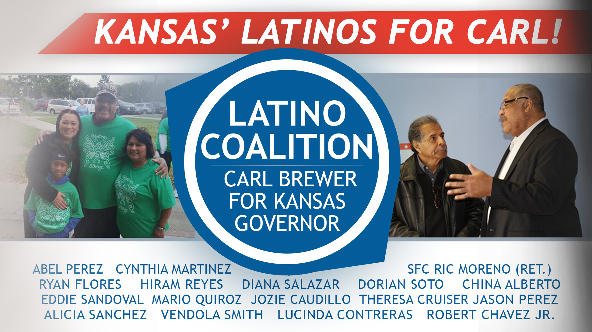 Latino Coalition - Carl Brewer for Kansas Governor
