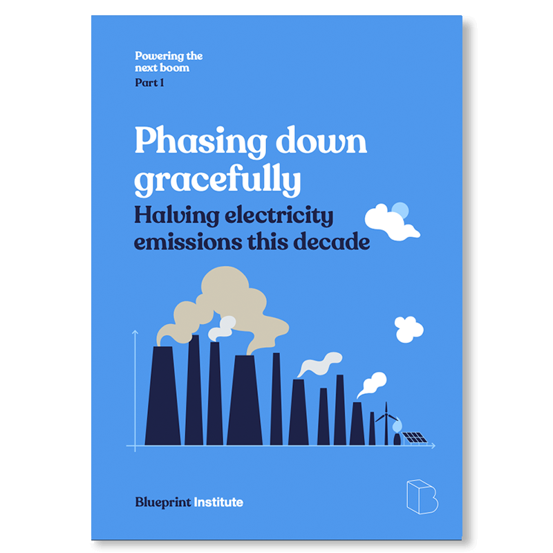 Read our Blueprint on halving emissions in the next decade