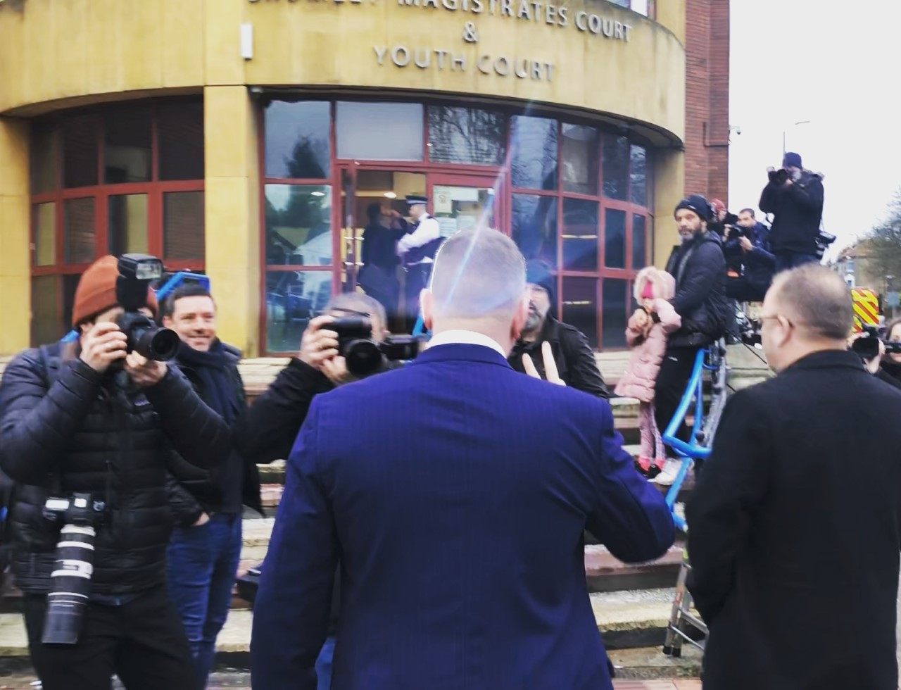 report paul attends bromley court  britain first