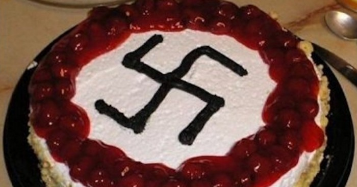 Surprising France Muslim City Official Celebrates His Birthday With A Nazi Funny Birthday Cards Online Overcheapnameinfo