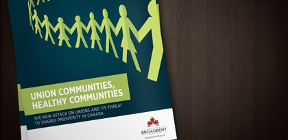 Union Communities, Health Communities report