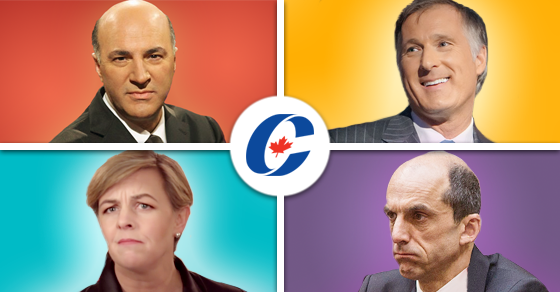Yikes, Canadian conservatives may have just had the weirdest weekend ever