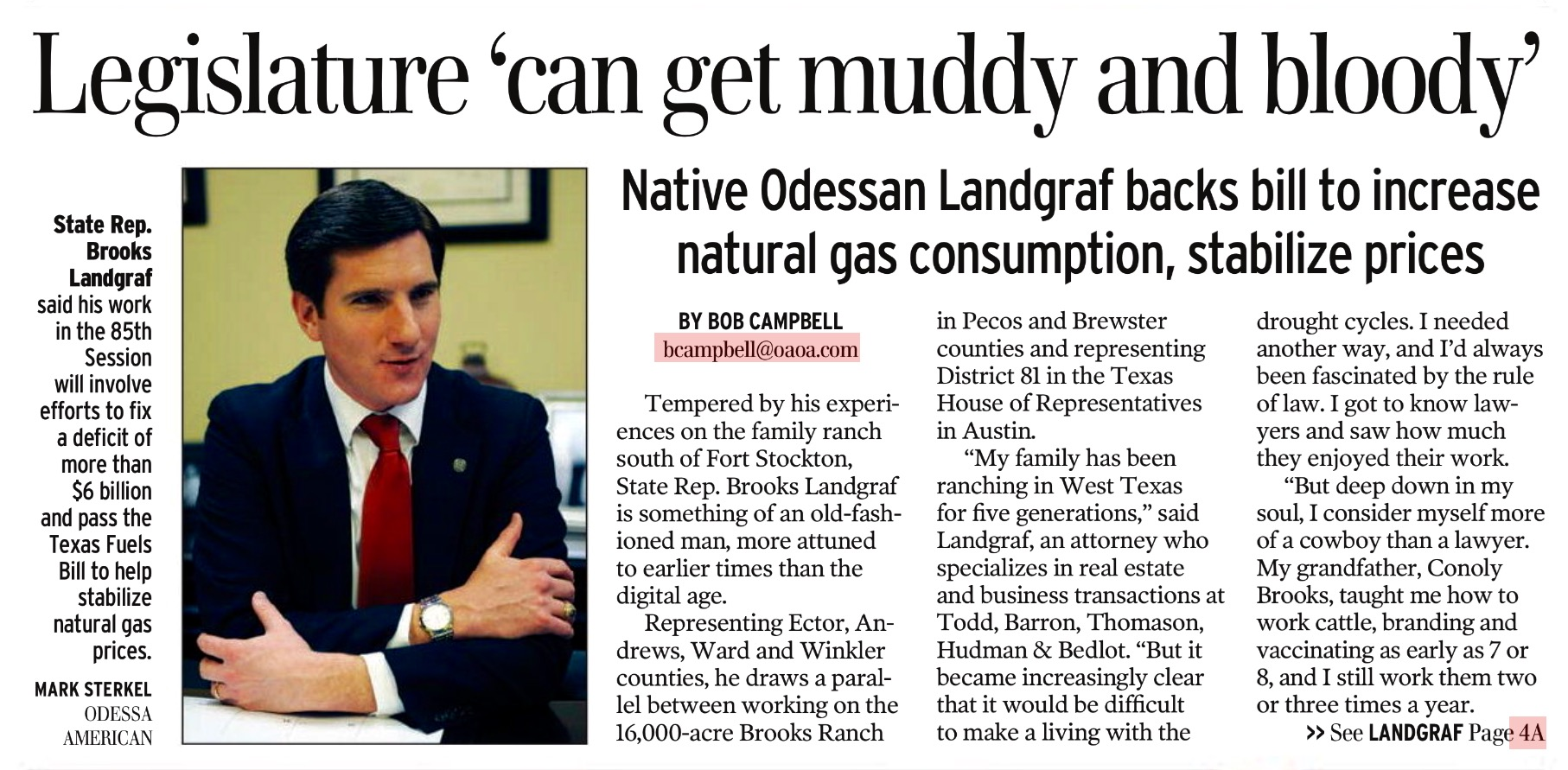 Landgraf_says_legislature_can_get_muddy_and_bloddy.jpg