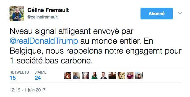 """Hier encore, la Ministre de l'Environnement, Céline Fremault, rappelait son """"engagement pour une société bas carbone""""."""